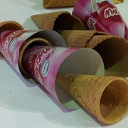 Линия заполнения вафельных стаканчиков IntelleCone фото