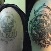 Коррекция татуажа, Львов