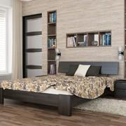 Кровать из натурального дерева Титан фото