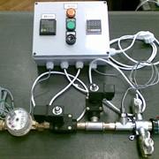 Проточный смеситель-дозатор воды с автоматическим сливом в канализацию марки ПСДВ-2 фото