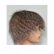 Женская шапка из лисы фото