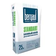Клей Плиточный Стандарт (Standart) для керамической плитки в помещениях с любой влажностью 25кг фото