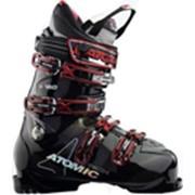 Ботинки горнолыжные Atomic B 120 black / red trans. фото