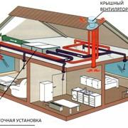 Проектирование систем вентиляции и центрального кондиционирования фото