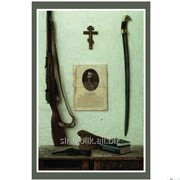 Почтовая открытка За Веру, Царя и Отечество Д. Шмарин фото
