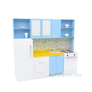 Игровая мебель Кухня с холодильником МИ-01.00.01-Ф фото