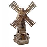 Мельница декоративная шестигранная фото
