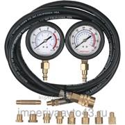 Манометр для измерения давления масла, два манометра, 0-7 и 0-20 бар МАСТАК 120-20028