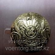 Большая пуговица, с гербом РК фото