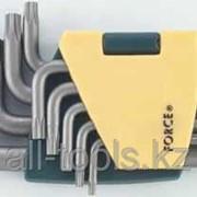 Набор 5-гр. ключей Torx с отв. Г-обр. - 9пр Код:50913 фото