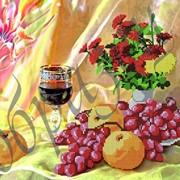 Схема для вышивки бисером Натюрморт с вином КМР 3148 фото