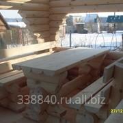 Мебель из массива сосны, состаренная фото