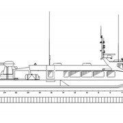 Пассажирское судно на воздушной подушке СВП-30 фото