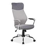 Кресло компьютерное Signal Q-319 (светло-серый/темно-серый) фото