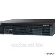Маршрутизатор Cisco 2911 w/3 GE,4 EHWIC,2 DSP, 1 SM,256MB CF,512MB DRAM,IPBase (CISCO2911/K9) фото