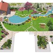 Строительство декоративных водоемов и бассейнов фото