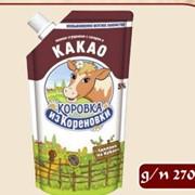 Молоко сгущенное с сахаром и какао д/п 270 г фото