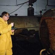 Гидродинамическая очистка. Безреагентная очистка от накипи котельного оборудования. фото