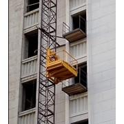 Мачтовый подъёмник, лифт фото