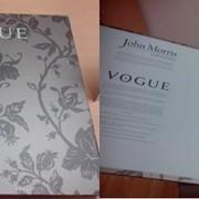 Коллекция покрытий Vogue от John Morris, Newmor (про-во Англия) фото