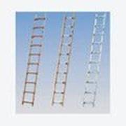 Лестница для крыш 14 ступеней алюминиеводеревянная KRAUSЕ 804235 фото
