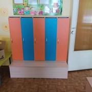 Шкафы раздевальные для школы детского сада фото