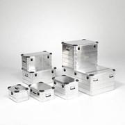 Алюминиевые ящики фото