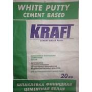 Шпаклевка финишная цементная белая фото