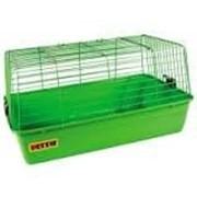 Клетка для морских свинок, кроликов, шиншилл R1, 59*35,5*31,5 см фото