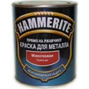 Краска Hammerite молотковая Cалатная (0,25л) фото