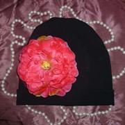 Роскошные шапочки с цветами от производителя ИП Царьков фото