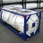 Танк – контейнер для перевозки ДТ дизельного топлива и бензина фото