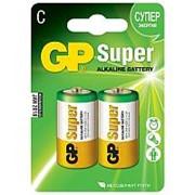 Батарейка GP Super C/343/LR14 алкалиновая, 2шт/блистер фото