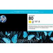 Картридж HP C4823A No. 80 Printhead And Cleaner Yellow фото