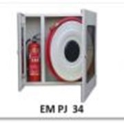 Шкаф пожарный, для пожарного рукава с кассетой и огнетушителя фото