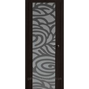 Межкомнатные двери Милано-2 ПО (Рис. Индиго) фото