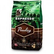 Кофе Paulig Espresso Originale, в зернах, 1kg фото