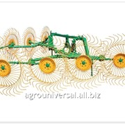 Грабли колесно-пальцевые навесные ГКП-8 фото
