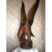 Скульптуры из дерева. фото