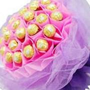 Букеты из конфет фото