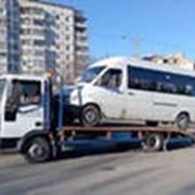 Эвакуация микроавтобусов фото