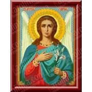 Набор для вышивания икон Святой Архангел Гавриил КТК - 3015 фото