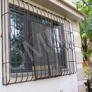 Решетки на окна вариант 11 фото