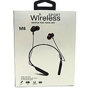 Беспроводные наушники Wireless M8 Black фото