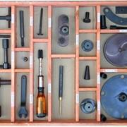 Комплект приспособлений и оправок для ремонта кранов машиниста и крана вспомогательного тормоза КПО-КМ фото