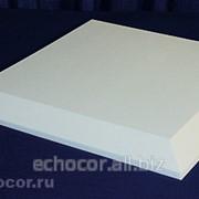Отделка фаской акустических панелей ЭхоКор 40 мм фото