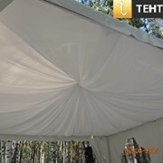 Декорирование шатров и тентов фото