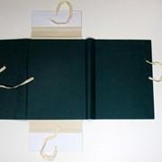 Изготовление архивных папок на завязках фото