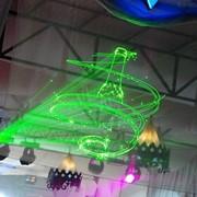 Лазерное шоу фото