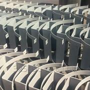 Опоры скользящие хомутовые для труб ППУ. фото